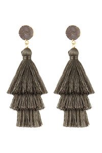 Layer Tassels Earring