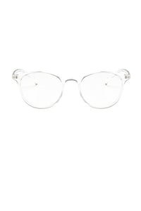 Clear Round Glasses
