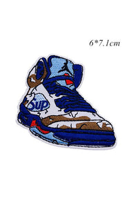Sneakers Embroidery Applique