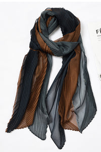 Voile Pleated Scarf