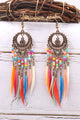 Beads Feather Earring