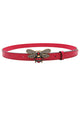 Rhinestone Bee Leather Belt