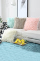 Fur Feather Cushion Cover