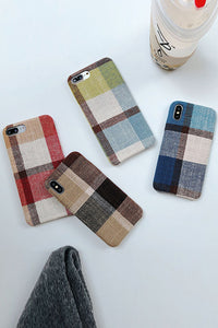 Plaid Phone Case