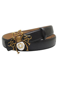 Bee Leather Belt