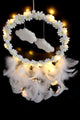 LED Cloud Feather Dreamcatcher