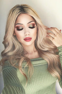 Halve Curly Long Wig