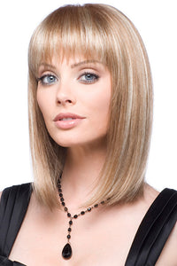 Short Straight Medium Length Wig