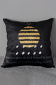Velvet Letter Cushion Cover