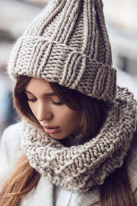 Casual knit Hat