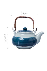 Ceramics Cup Kettle Set