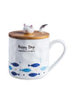 Cat Fish Ceramics Mug