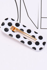 Leopard Geometry Hair Clip