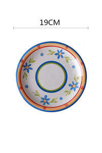 Floral Creamics Plate