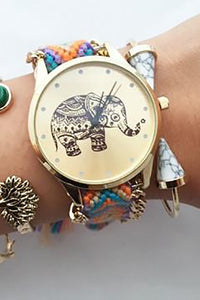 Elephant Weave Watch