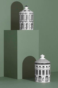 Architecture Print Ceramics Jar
