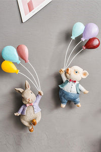 Resin Flying Balloons Decorate