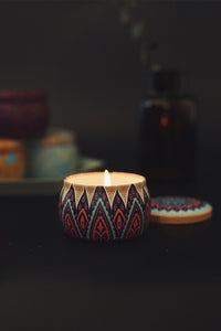 Smokeless Scented Candle