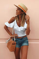 Leather Straw Hats