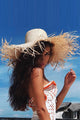 Straw Brim Beach Hat