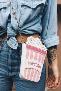 Popcorn Chains Crossbody Bag