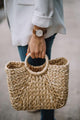 Corn Skin Straw Bag