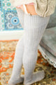 Cotton Over Knee Socks