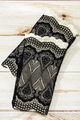 Lace Layered Boot Cuffs