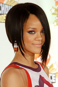 Short Rihanna's Synthetic Wig