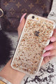 Sparkle Clear Phone Case