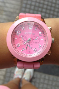 Canday Color Silicone Watch