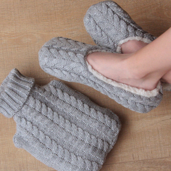 Slippers and Hot Water Bottles