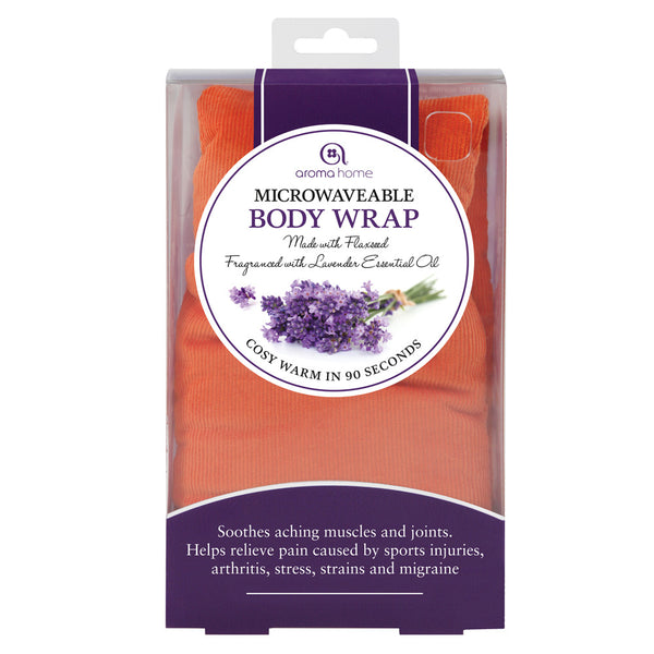 Orange Soothing Microwave Body Wrap