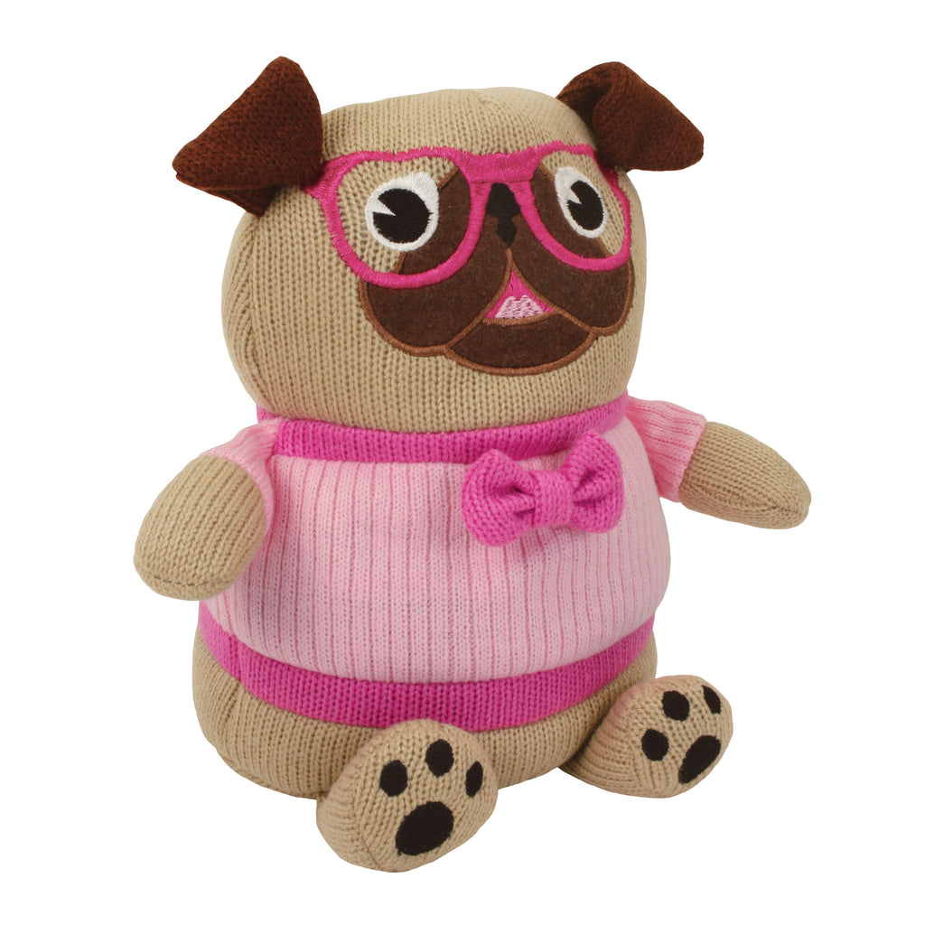 Pug Knitted Cosy Friend Hottie