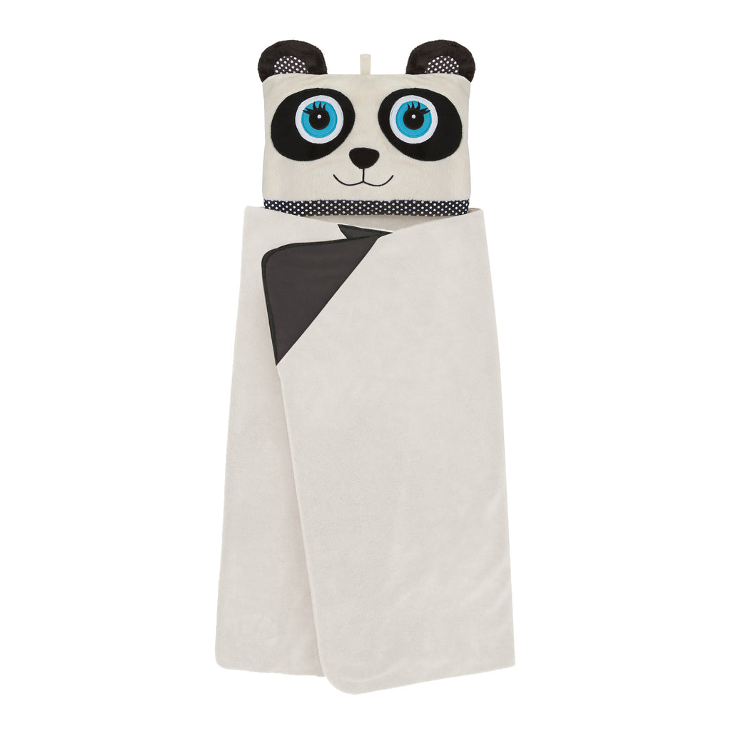 Panda Cosy Up Hooded Blanket