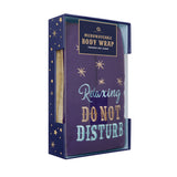 'Relaxing, Do Not Disturb' Felt Body Wrap