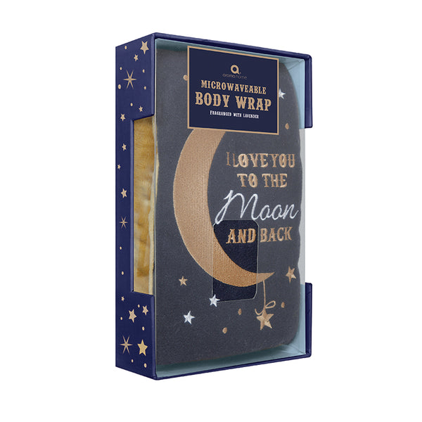 'Love You to the Moon and Back' Felt Body Wrap