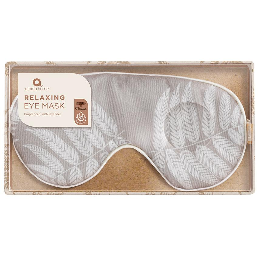 Inspired by Nature Stone Fern Eye Mask