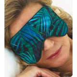 Inspired by Nature Green Palm Eye Mask