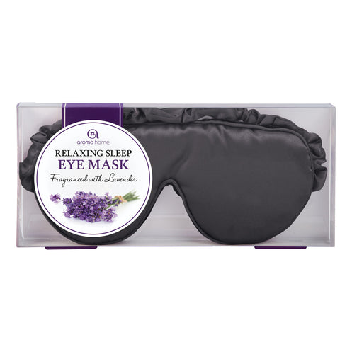 Black Satin Eye Mask