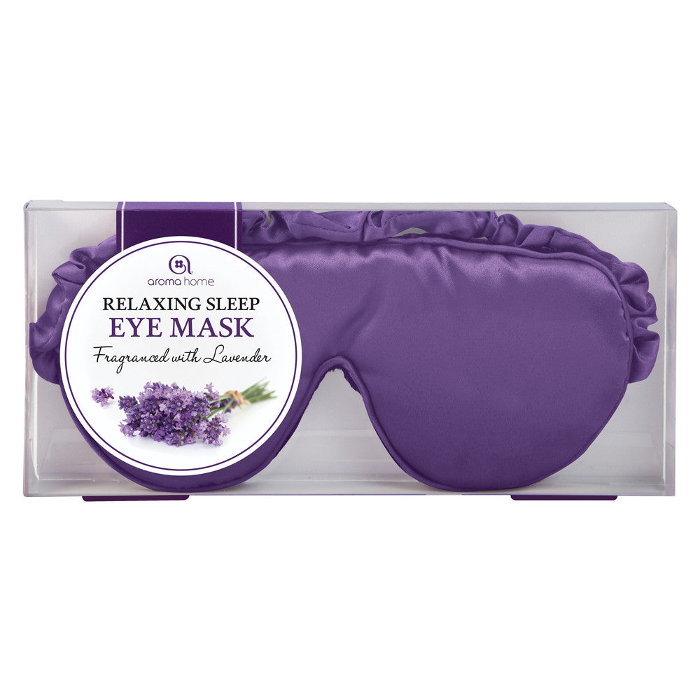 Lavender Satin Eye Mask