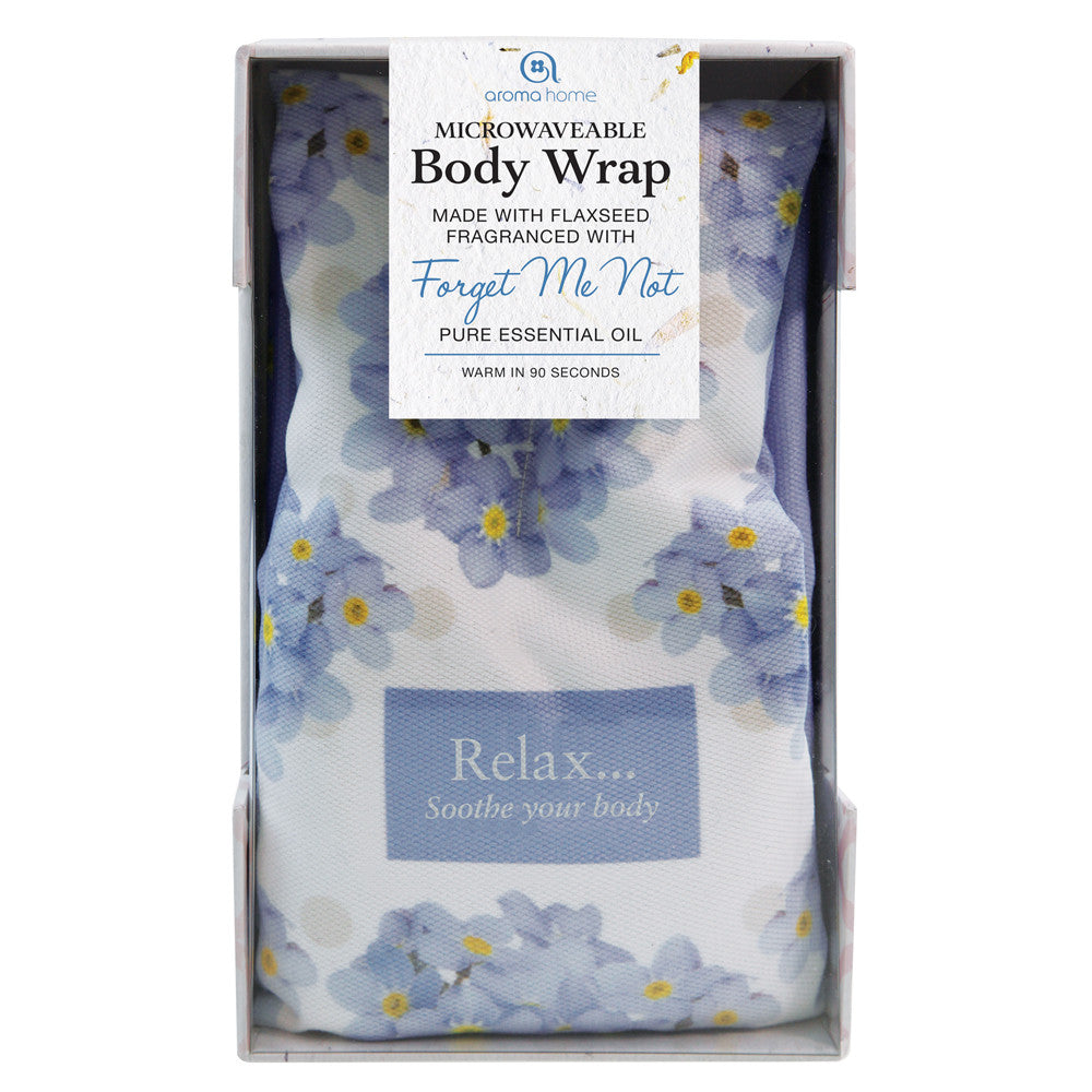 Forget Me Not Scented Floral Microwave Body Wrap