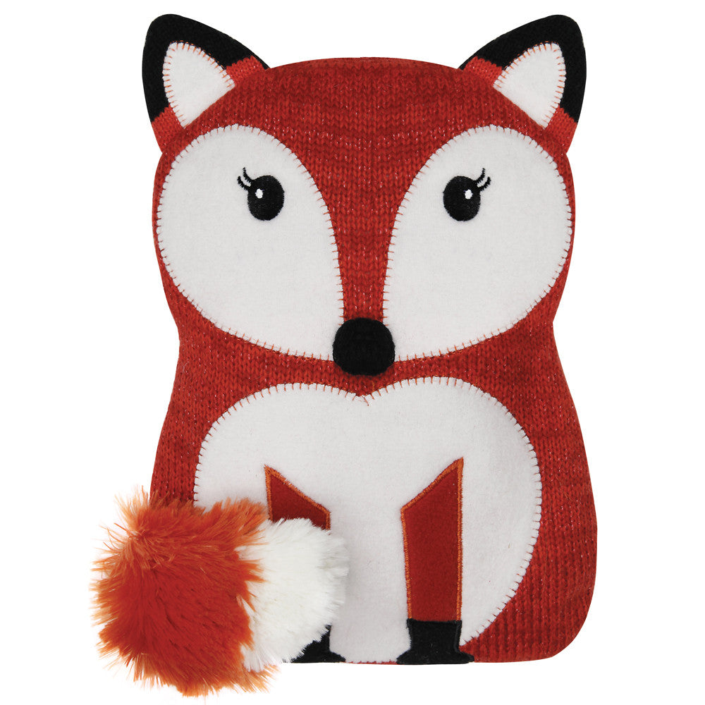 Red Fox Knitted Microwave Hottie