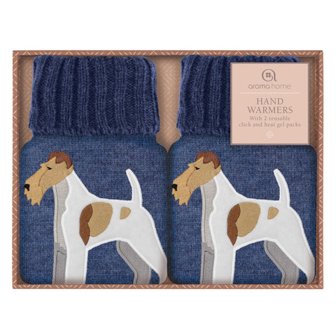 Fox Terror Heated Knitted Hand Warmers