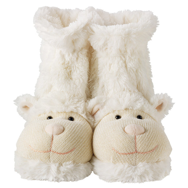 Lamb Fun For Feet Slipper Socks