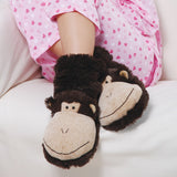 Fun For Feet Monkey Slipper Socks