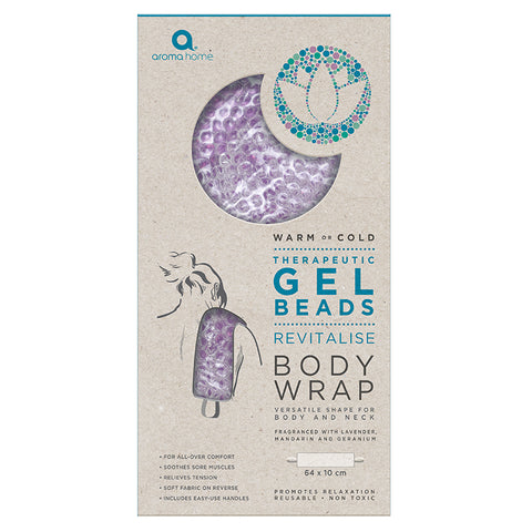 Therapeutic Gel Beads Lavender Body Wrap