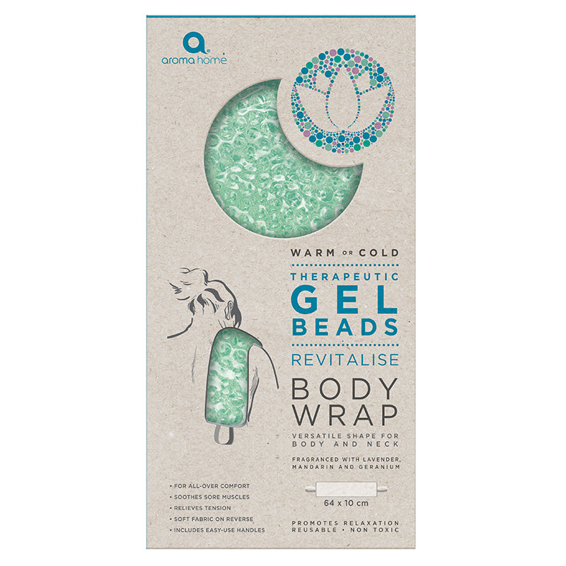 Therapeutic Gel Beads Sea Foam Body Wrap