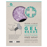 Therapeutic Gel Beads Cooling Lavender Knee Wrap