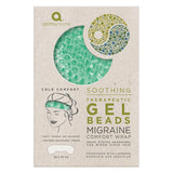 Therapeutic Sea Foam Gel Beads Migraine Wrap
